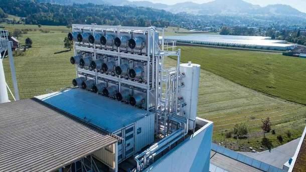 Завод по переработке углекислого газа в Швейцарии