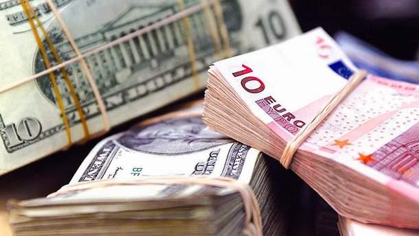 Наличный курс валют 2 июня в Украине