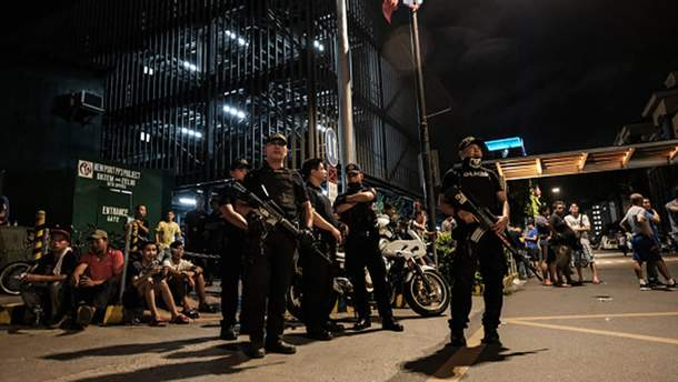 Атака на казино в Филиппинах