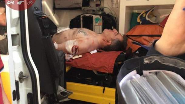 Адама Осмаева вместе с нападающим госпитализировали с места стрельбы