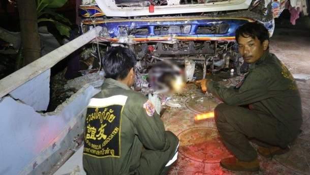 Смертельная авария в Таиланде