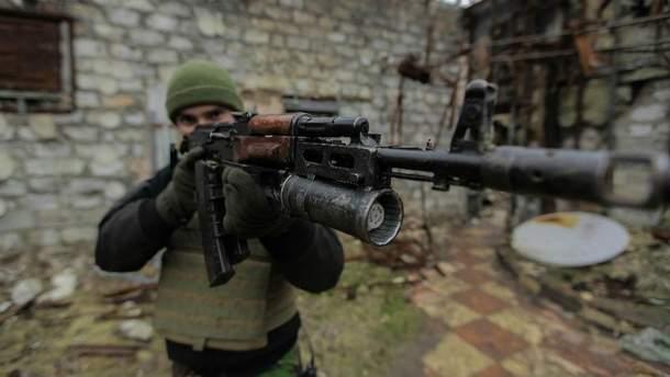 Новые позиции сил АТО на Донбассе