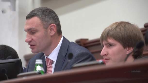 Віталій Кличко і Володимир Бондаренко