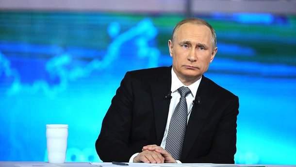Путін незадоволений ставленням США
