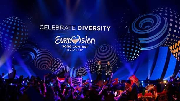 Евровидение-2017 прошло в Киеве