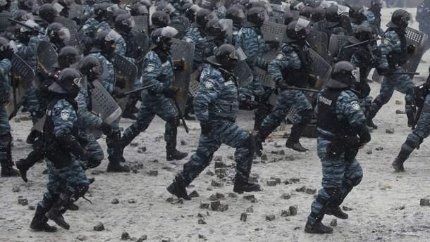 """""""Беркут"""" під час подій Євромайдану"""
