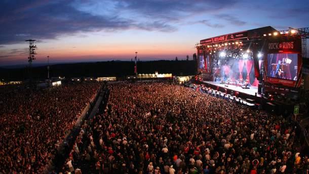 Музыкальный фестиваль Rock am Ring в Нюрнберге