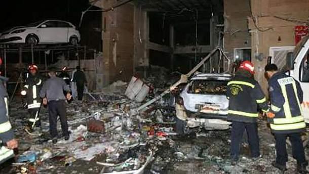 Взрыв в Ширазе
