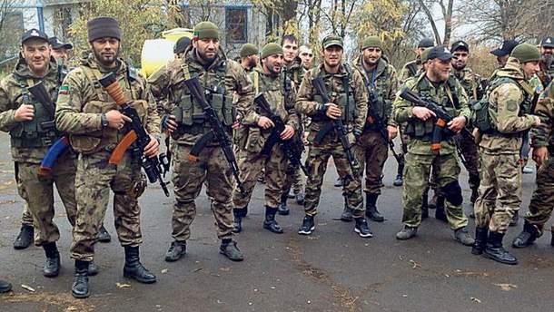 Кадыровцы на Донбассе