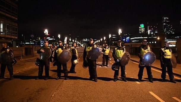 Місце теракту у Лондоні