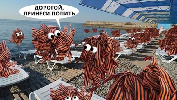 За провалом курортного сезона в Крыму можно наблюдать онлайн