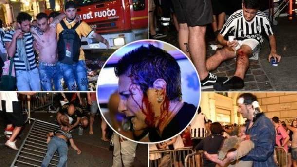 Более 1500 человек пострадали в фан-зоне в Турине из-за давки
