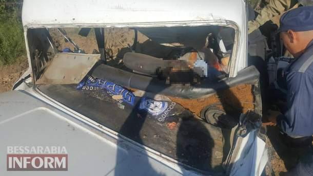 Страшная авария в Одесской области