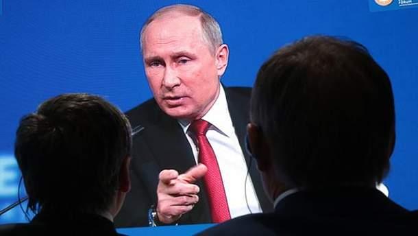 """Путин резко """"наехал"""" на США"""