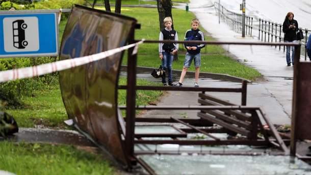 У Москві вирував ураган