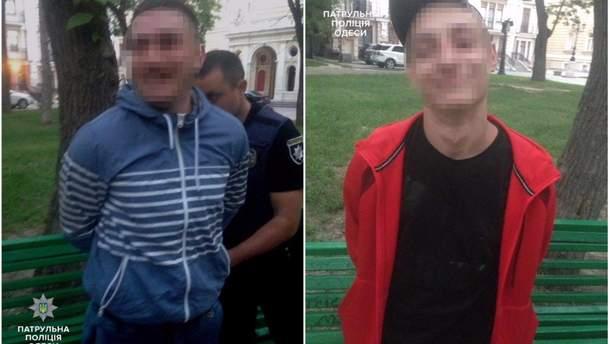 Стрельба в Одессе: подозреваемые