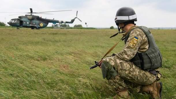 Один украинский воин получил ранения получил ранения в Луганской области