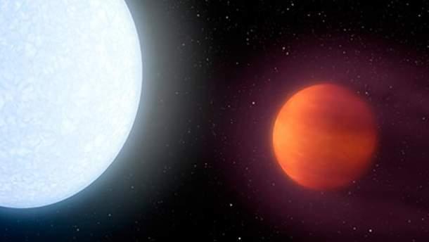 Найдена самая горячая планета