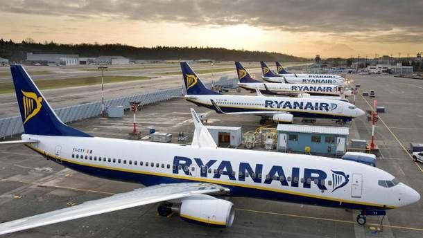 Ryanair в Украине (Иллюстрация)