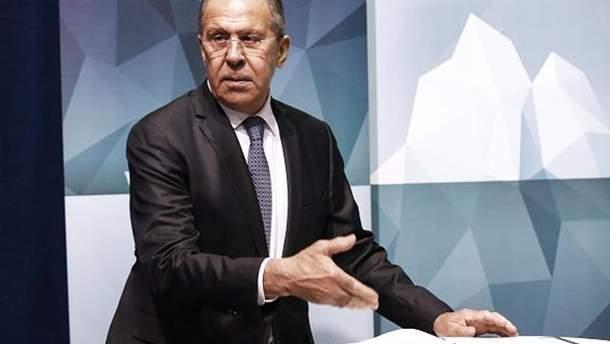 Сергій Лавров невдоволений тим, що Литва відмежується від Росії стіною