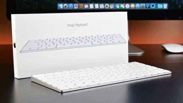 Apple представили клавиатуру Magic Keyboard