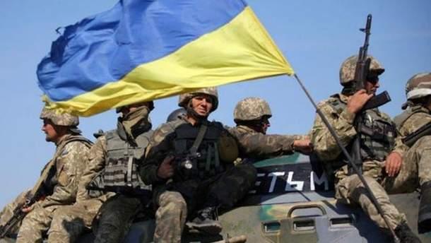 Украинские военные получили ранения