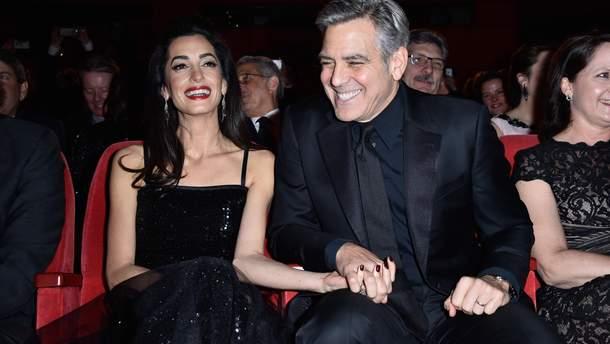 Джордж Клуні став батьком: Амаль Клуні народила двійнят