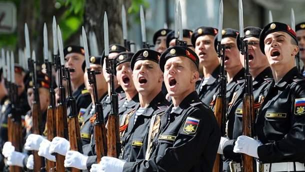 Россия проводит военные учения в Крыму под разными предлогами