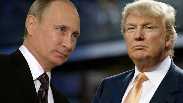 Володимир Путін та Дональд Трамп