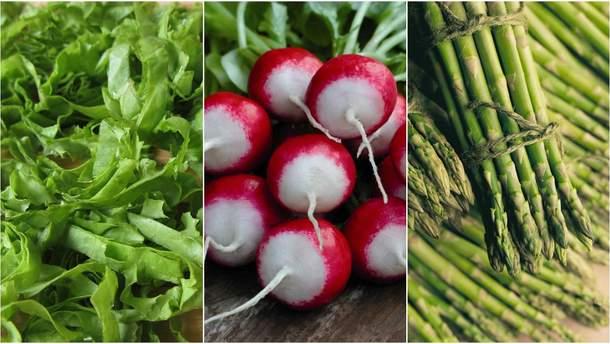 Сезонні продукти в червні