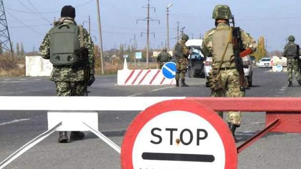 Террористы обстреляли пост пограничников в Марьинке