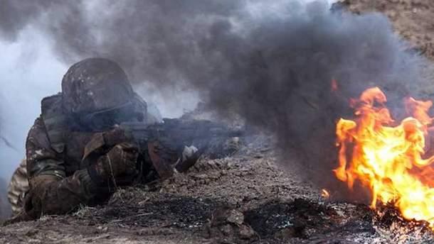Сили АТО обстріляли бойовиків: відео