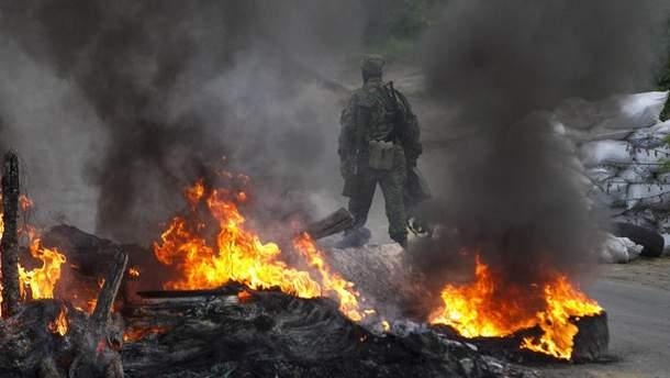 Динамичный бой продолжается на Луганщине