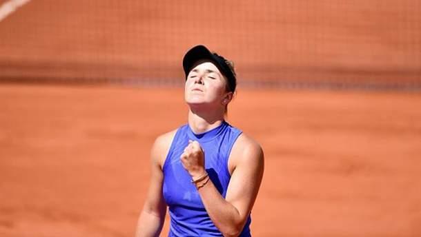 Світоліна поступилась на Roland Garros