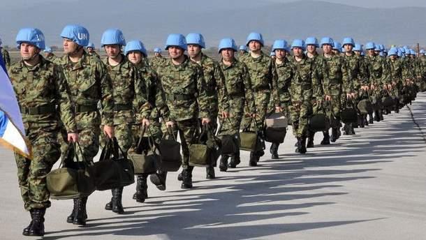 Миротворча місія ООН