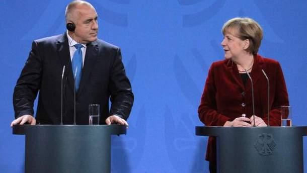 Бойко Борисов та Ангела Меркель