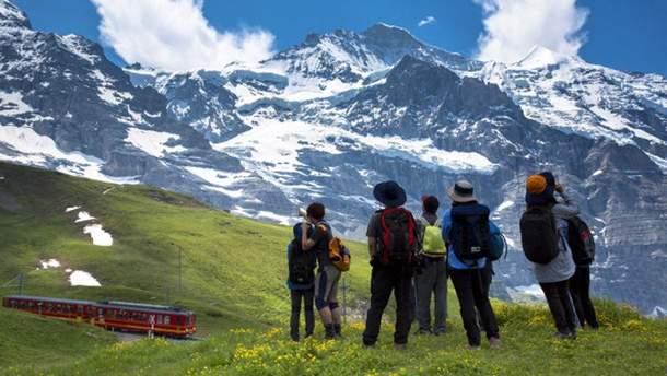 Украинцы смогут полюбоваться красотой Швейцарии без виз