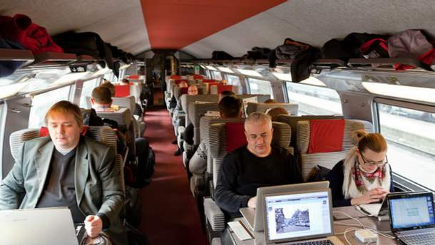 Актера задержали в поезде