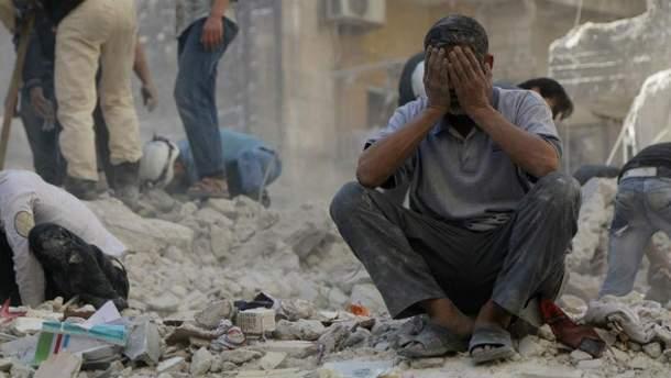 Война в Сирии (Иллюстрация)