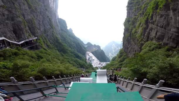 Найдовша у світі паркур-перешкода