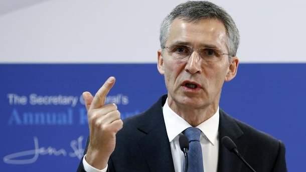 Йенс Столтенберг заявил, что двери НАТО всегда открыты для Украины