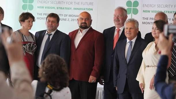 Украинская официальная делегация в Монако