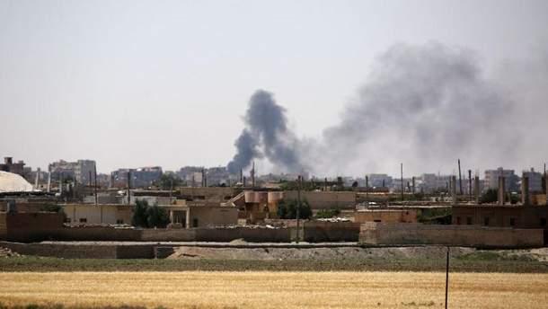 Авіаудар у Сирії