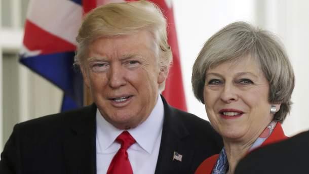 Трамп и Мэй допустили политических ошибок