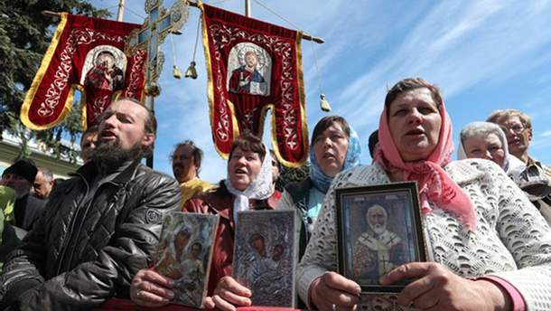 УПЦ МП готовит протесты против Верховной Рады