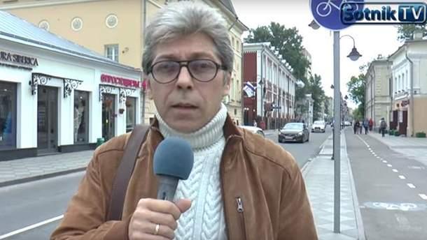 Мнение москвичей о введении Украиной виз с Россией узнал Саша Сотник