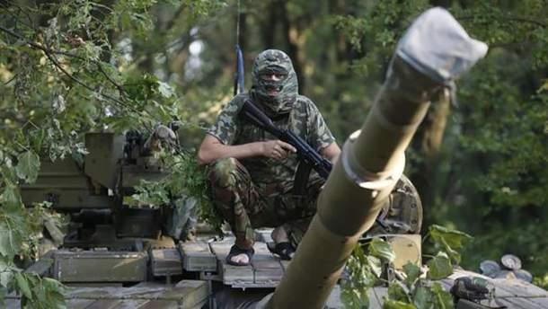 Убийца украинцев на Донбассе