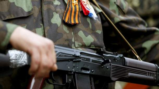 Боевики на Донбассе стреляют сами по себе