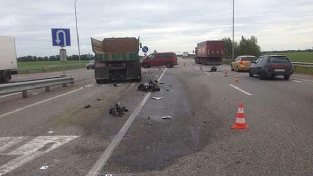 Смертельная авария на трассе Киев – Чоп