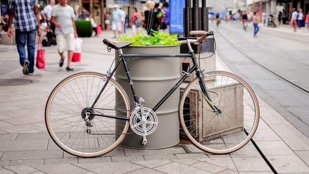 10 цікавих ідей, як зберігати велосипед в малій квартирі